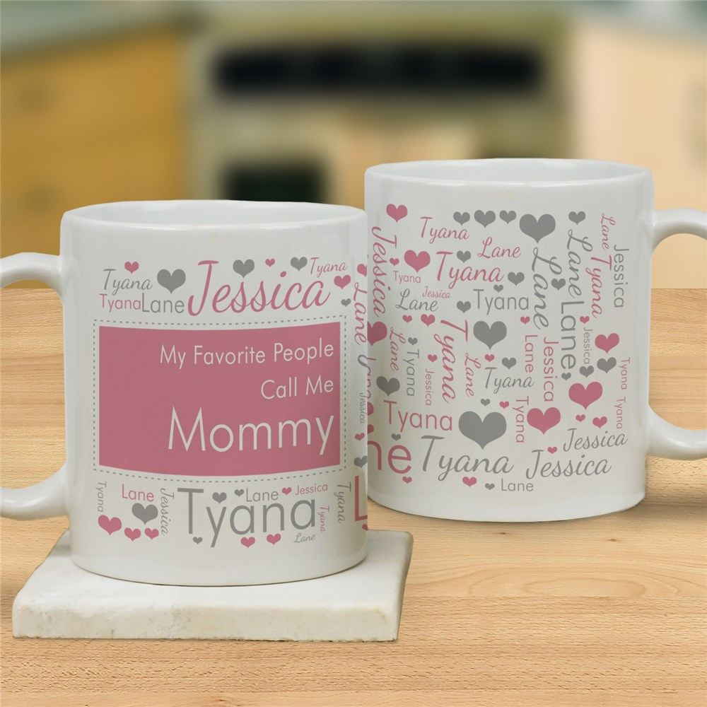 Family Word Art Coffee Mug | Mother's Day Coffee Mug