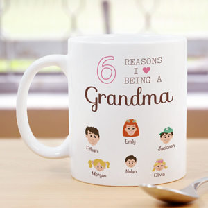 Personalized Reasons I Love Mug