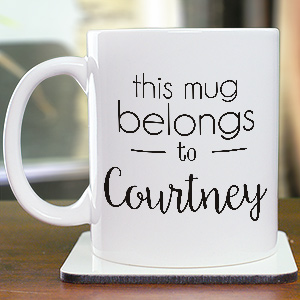 Personalized Belongs To Mug   2101680