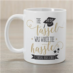 Personalized Worth The Hassle Graduation Mug | Graduation Mugs