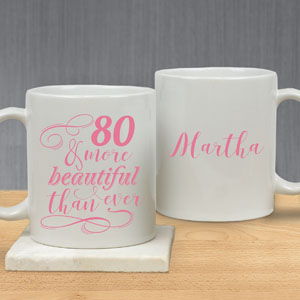 Personalized More Beautiful Mug | Customizable Coffee Mugs