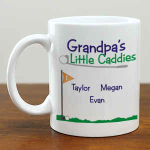 Personalized Little Caddies Coffee Mug | Customizable Coffee Mugs
