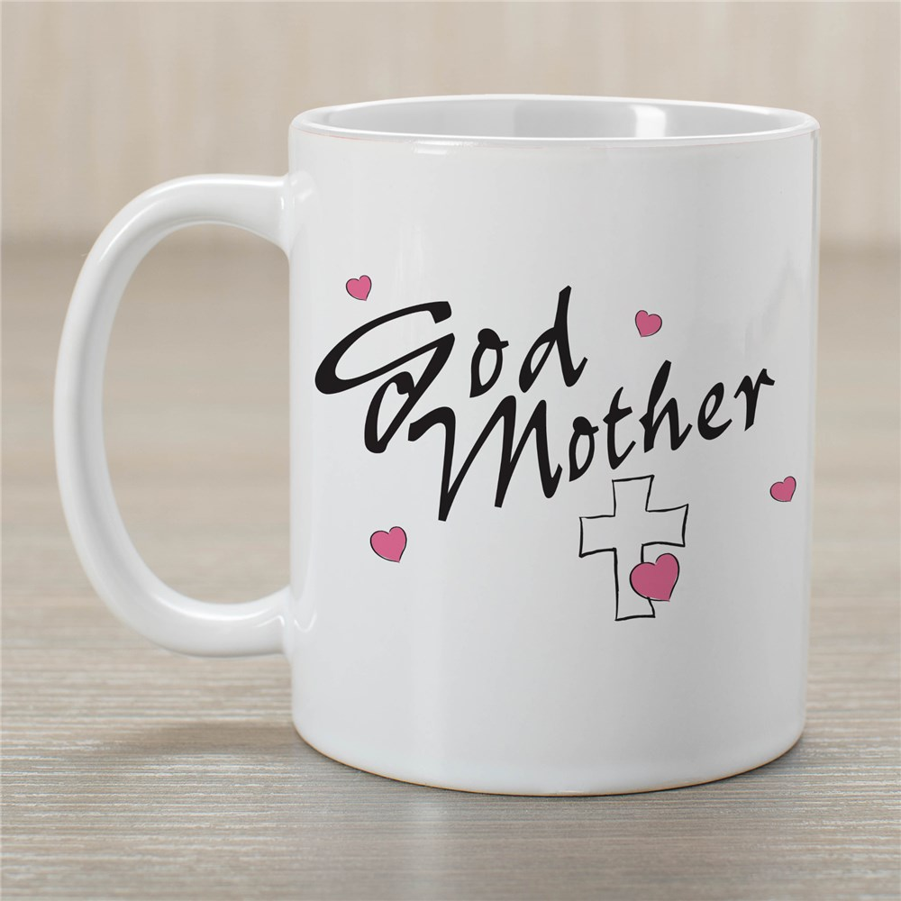 Godmother Ceramic Coffee Mug | Customizable Coffee Mugs