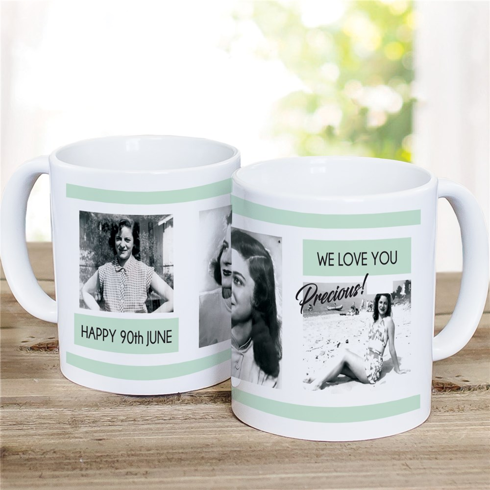 Personalized Photo Collage Mug for Her | Mothers Day Mugs