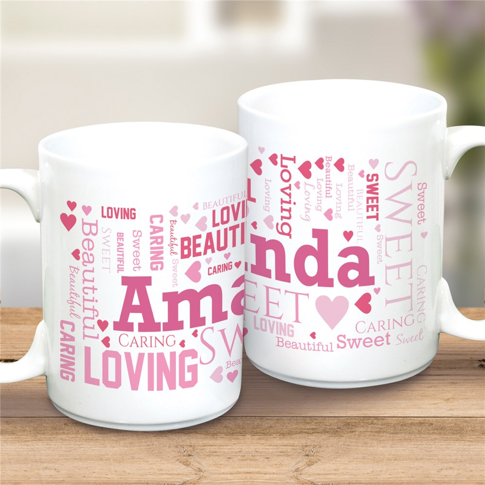 Personalized Mugs for Valentines | Pretty Personalized Mugs