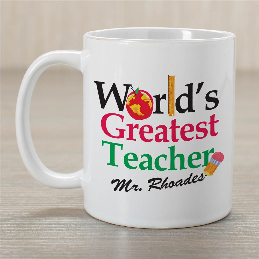 Personalized Teacher Coffee Mug | Customizable Coffee Mugs