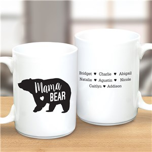 Personalized Mama Bear Latte Mug | Personalized Mug