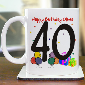 Birthday Ceramic Coffee Mug