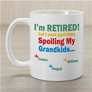 Personalized Grandkids Coffee Mug | Personalized Grandpa Gifts