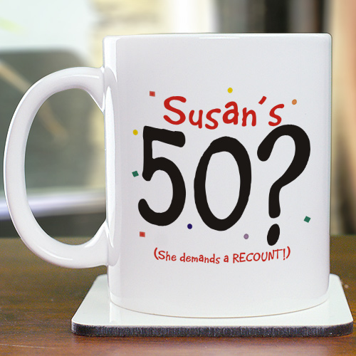 Demands A Recount Coffee Mug | Customizable Coffee Mugs