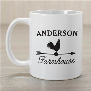 Personalized Farmhouse Coffee Mug | Personalized Mugs