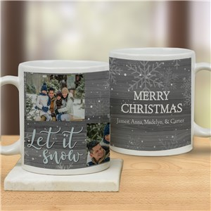Winter Photo Coffee Mug | Personalized Coffee Mug