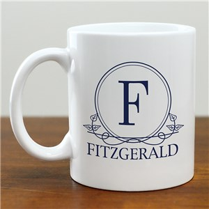 Personalized Coffee Mugs | Coffee Mug With Initial
