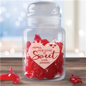 Personalized Valentine's Gifts | Engraved Treat Jars