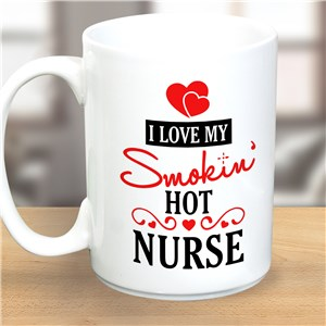 Personalized Smokin Hot Coffee Mug 2141150LM