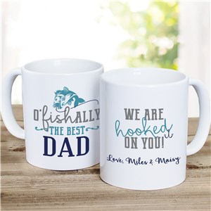 Father's Day Coffee Mug | Gifts For Fisherman