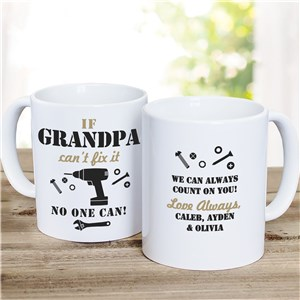 Father's Day Coffee Mug | Handy Man Fix It Mug