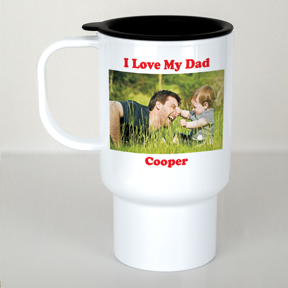 Picture Perfect Personalized Photo Travel Mug | Personalized Travel Mugs