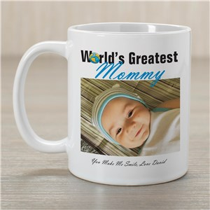 World's Greatest Personalized Photo Coffee Mug | Customizable Coffee Mugs