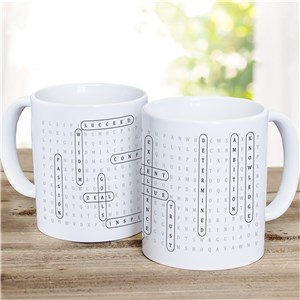 Personalized Word Search Coffee Mug 2155240