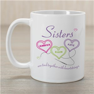 Personalized Sister Coffee Mug | Customizable Coffee Mugs