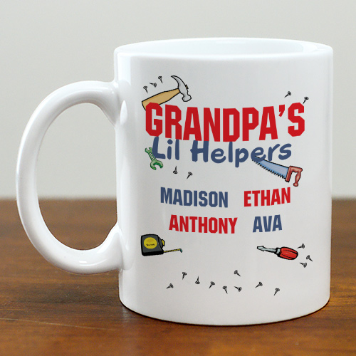 Personalized Fathers Day Coffee Mug | Customizable Coffee Mugs
