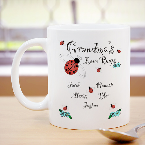 Love Bugs Coffee Mug | Customizable Coffee Mugs
