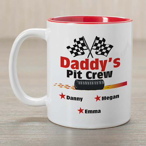 Pit Crew Coffee Mug | Father's Day Gift