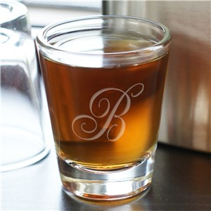 Monogram Shot Glass 220695