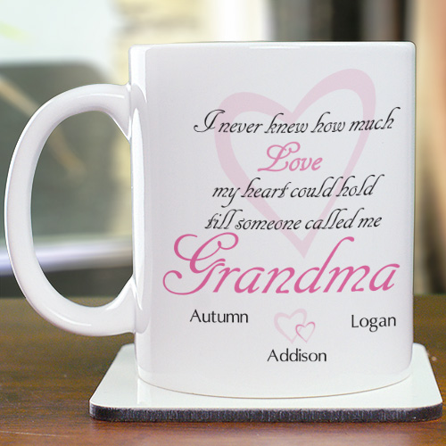 How Much Love Personalized Mug | Personalized Gifts For Grandma