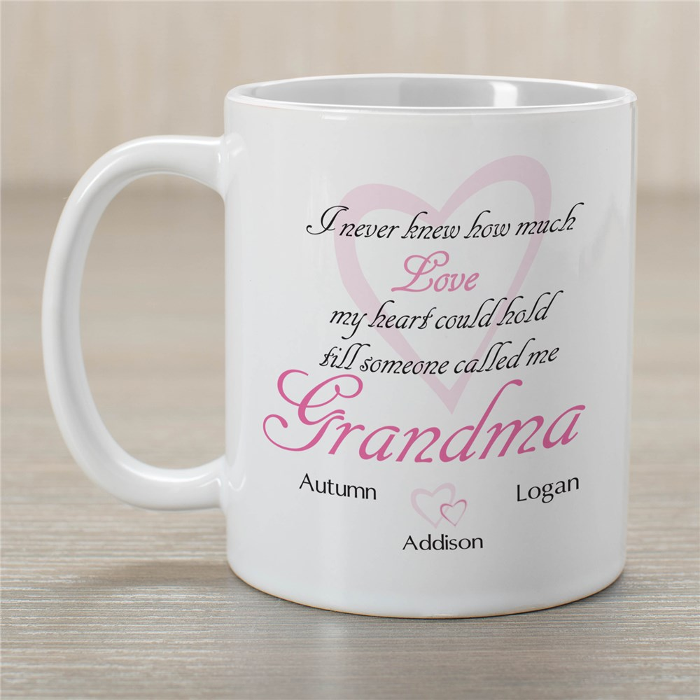 How Much Love Personalized Mug | Grandma Gifts