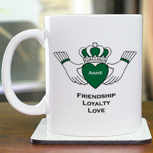 Friendship Loyalty Love Personalized Coffee Mug | Customizable Coffee Mugs