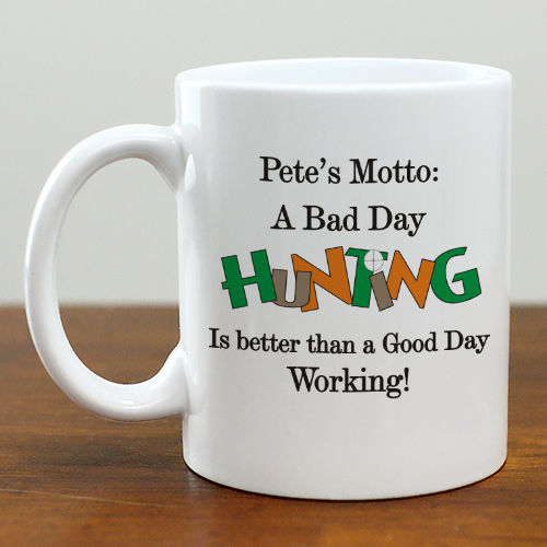 Bad Day Hunt Coffee Mug