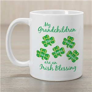 Personalized Mugs | Irish Blessings Mug