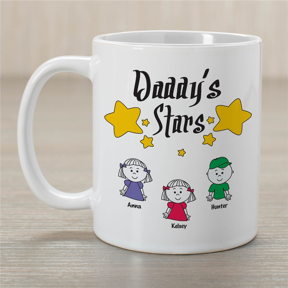 My Stars Personalized Father's Day Coffee Mug | Personalized Mugs For Dad