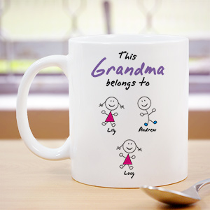 Personalized Belongs To Coffee Mug