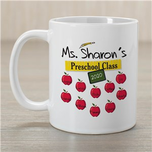 Custom Printed Teacher Coffee Mug | Customizable Coffee Mugs