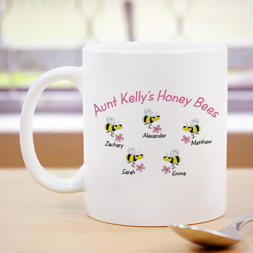 Honey Bees Personalized Coffee Mug