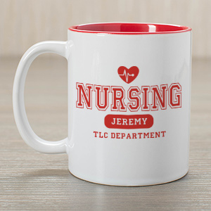 Nursing TLC Nurse Coffee Mug | Customizable Coffee Mugs