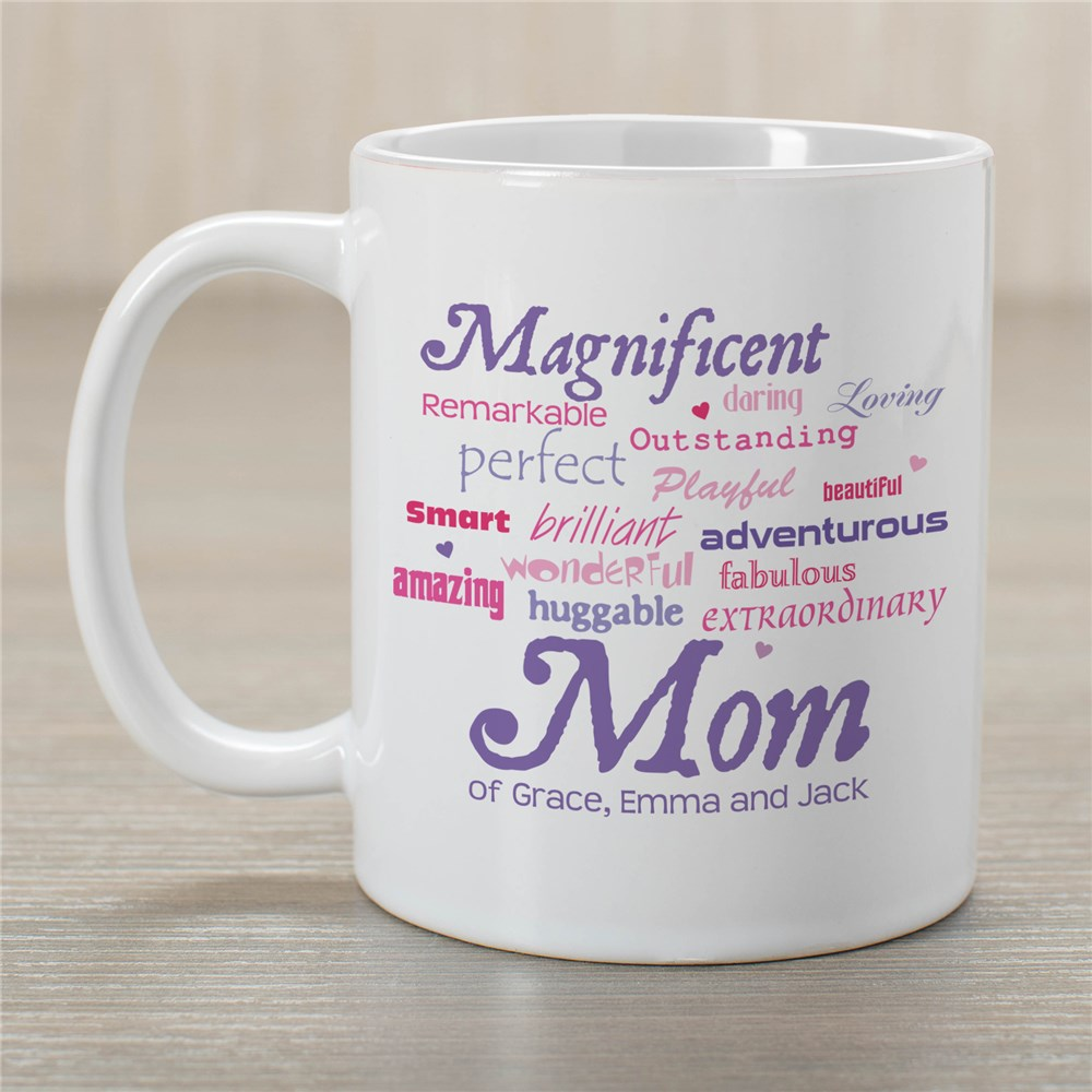 Personalized Mom Mug | Customizable Coffee Mugs