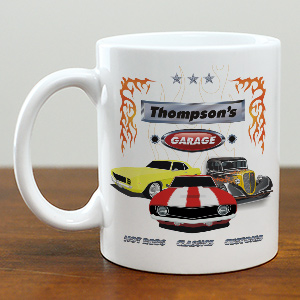 My Garage Personalized Coffee Mug