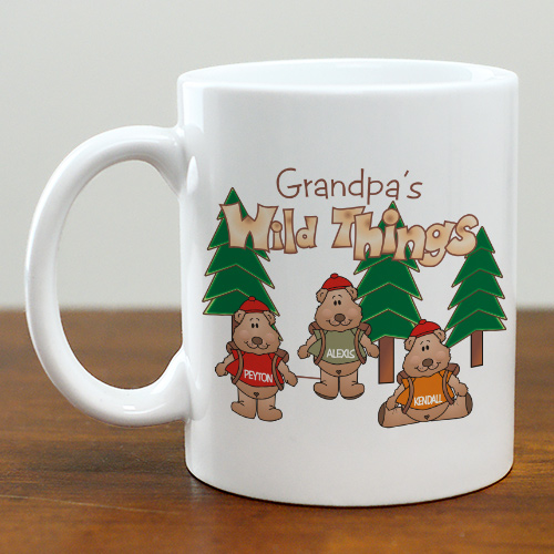 Personalized Grandpa Coffee Mug | Customizable Coffee Mugs