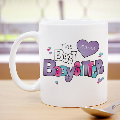 Personalized Babysitter Coffee Mug