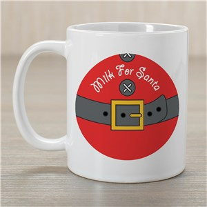 Milk for Santa Ceramic Mug | Christmas Mugs