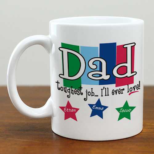Personalized Dad Coffee Mug | Personalized Coffee Mugs For Dad