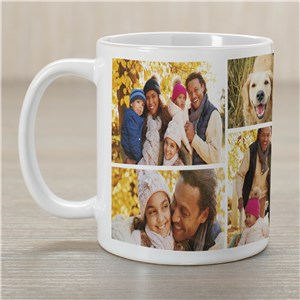 Collage Photo Mug | Coffee Mugs For Dad