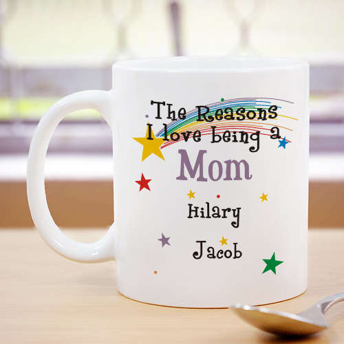 Reason I Love Personalized Mug | Customizable Coffee Mugs