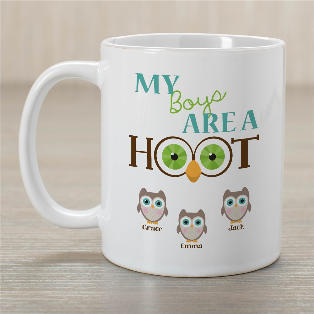 Personalized Are A Hoot Coffee Mug | Customizable Coffee Mugs