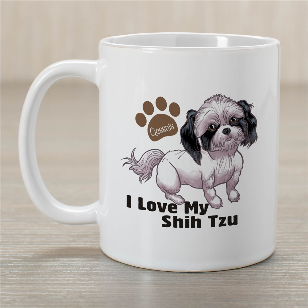 Personalized I Love My Shih Tzu Mug 27070ST0X