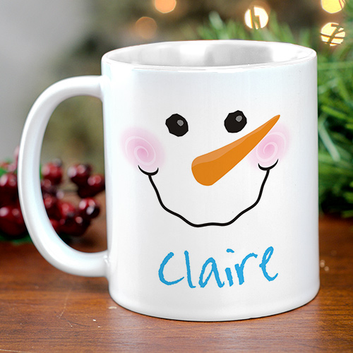 Snowman Mug | Personalized Christmas Mugs